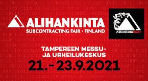 Alavuden Kehitys Oy järjestää matkan Alihankinta 2021 -messuille Tampereelle torstaina 23.9.2021